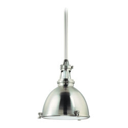 Hudson Valley Lighting - Hudson Valley Lighting 4614-SN Massena 1 Light Pendant, Satin Nickel - This 1 light Pendant from the Massena collection by Hudson Valley Lighting will enhance your home with a perfect mix of form and function. The features include a Satin Nickel finish applied by experts. This item qualifies for free shipping!