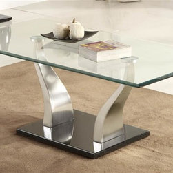 Homelegance - Atkins Cocktail Table - Contemporary style