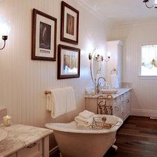 Traditional Bathroom by Tara Dudley