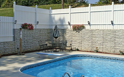 Traditional Pool by Foundation Builders LLC