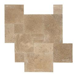 Travertine Paver - Noce paver - STONETILEUS - Order free sample