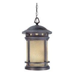 "Designer Fountain - Sedona 11"" Hanging Lantern - 11 inches cast hanging lantern"