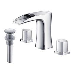 RIVUSS - RIVUSS Carrión FBWS-300 - Lead-Free Solid Brass Widespread Bathroom Faucet     , - RIVUSS Carrión FBWS-300