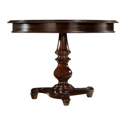 Hooker - Hooker Estate 42 Pedestal Table - Hooker Furniture Estate 42 Pedestal Table Estate Throughout the years, antiques have been one of the greatest sources of furniture inspiration, offering character, timelessness and enduring appeal.
