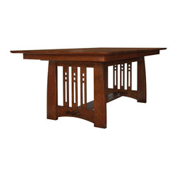 Stickley Self Storing Dining Table 89/91-598 -