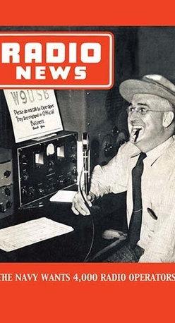 "Buyenlarge.com, Inc. - Radio News: the Navy Wants 4,000 Radio Operators! - Canvas Poster 20"" x 30"" - Radio, TV. Wireless, Telegraph, Television"