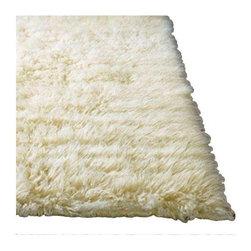 Flokati Shag Area Rug 4x6 - $400 Est. Retail - $250 on Chairish.com -