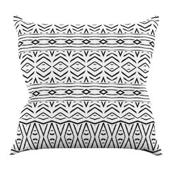 """Kess InHouse - Pom Graphic Design """"Tambourine"""" Throw Pillow (20"""" x 20"""") - Rest among the art you love. Transform your hang out room into a hip gallery, that's also comfortable. With this pillow you can create an environment that reflects your unique style. It's amazing what a throw pillow can do to complete a room. (Kess InHouse is not responsible for pillow fighting that may occur as the result of creative stimulation)."""