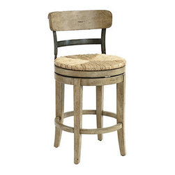 Marguerite Counter Stool - This stool touches a soft spot for me. It's so simple and rustic that I just can't resist!