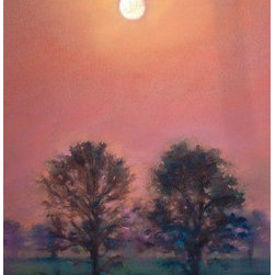 Full Moon Ii (Original) by Sabrina Zhou - This is an original pastel painting.