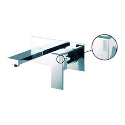 Fima Frattini by Nameeks S3501/5 Wall Mount Bathroom Faucet - The Fima Frattini by Nameeks S3501/5 Wall Mount Bathroom Faucet offers an angular contemporary control-center for your bathroom sink. This wall-mounted unit won't waste counterspace and is made from thick, solid brass. The unit comes with a rectangular backing-plate and features a single lever handle for accurate water temperature and flow-rate control. The metal surface is protected in your choice of finish, either satin nickel or polished chrome. The handle is available with or without a brick Swarovski crystal pattern.Product Specifications:ADA Compliant: YesCountry of Origin: ItalyDrain Assembly Included: YesMounting Style: Wall MountedNumber of Holes: 2Number of Handles: 1Handle Style: LeverOverall Height: 3.54 inchesSpout Reach: 6.14 inchesSwivel: NoValve Included: NoAbout NameeksFounded with the simple belief that the bath is the defining room of a household, Nameeks strives to design a bath that shines with unique and creative qualities. Distributing only the finest European bathroom fixtures, Nameeks is a leading designer, developer, and marketer of innovative home products. In cooperation with top European manufacturers, their choice of designs has become extremely diversified. Their experience in the plumbing industry spans 30 years, and is now distributing their products throughout the world today. Dedicated to providing new trends and innovative bathroom products they offer their customers with long-term value in every product they purchase. In search of excellence, Nameeks will always be interested in two things: the quality of each product and the service provided to each customer.