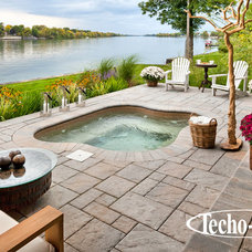 Contemporary Hot Tub And Pool Supplies by Techo-Bloc