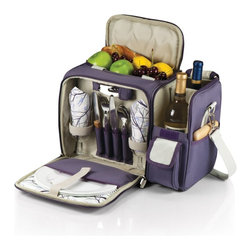 Picnic time - Malibu - Aviano - The Malibu - Aviano is the most convenient go-anywhere picnic pack you can find. Fully insulated, it's made of 150D polyester microfiber and comes with deluxe picnic service for two. The Malibu - Aviano features an insulated and divided wine section for two bottles and a removable water-resistant liner in the food storage area.