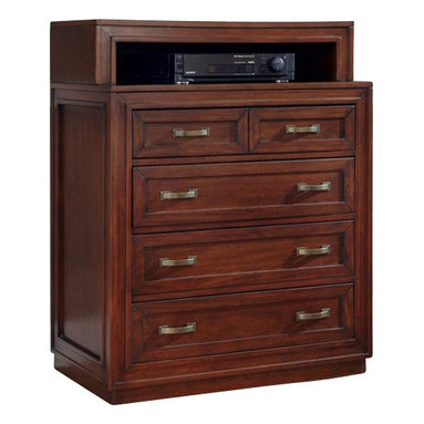 Home Styles - Home Styles Duet Media Chest in Cherry Finish - Home Styles - Chests - 5545041 - Create distinctive style with this modern Media Chest.