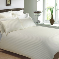Lasin Bedding Hotel Collection Bedding Duvet Cover Sets - Stripe -