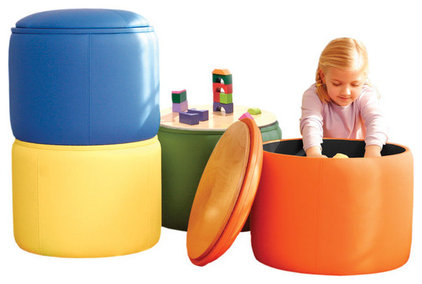 contemporary ottomans and cubes by Moolka