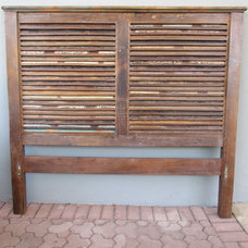Eclectic Headboards by red: modern lines . vintage finds