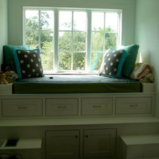 Eclectic Beds by Old South Construction