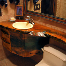 contemporary bathroom countertops by Earl Nesbitt Fine Furniture