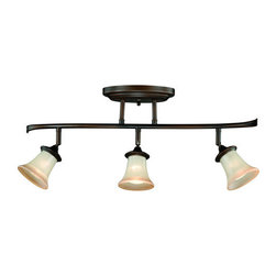Vaxcel Lighting - Vaxcel Lighting C0018 Sonora 3 Light Flush Mount Ceiling Fixture - Features: