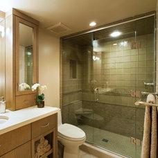 Contemporary Bathroom by Solo Design, LLC