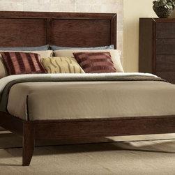 Acme Furniture - Madison Espresso California King Platform Bed - 19564CK - Madison Collection California King Bed