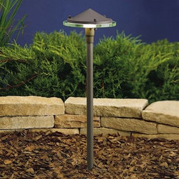"Kichler Lighting 15317AZT Glass & Metal Garden/Pathway Light - Get 10% discount on your first order. Coupon code: ""houzz"". Order today."