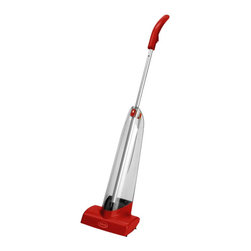 Ewbank Cascade Manual Carpet Shampooer with 48-Ounce Tank Capacity, Red Finish - The Ewbank 280 Cascade Manual Carpet Shampooer is a bagless and cord-free alternative to the traditional carpet shampooer and cleans area rugs and other types of carpet, eliminating dirt and residue with a unique fresh scent solution. This shampooer features a 48-ounce tank capacity and a wide 8-inch replaceable roller to shampoo more floor space in less time. The lightweight, easy to maneuver design is perfect for dorms, restaurants and banks and since it doesn't run on batteries or use a motor, the operating sound levels are ideal for businesses. This model features a telescopic handle, easy-fill tank and a trigger release which allows cleaning fluid to travel directly to the carpet for an even application. The quick release handle makes cleaning stairs and compact areas convenient and also makes storing the Cascade a breeze. Includes 17-ounce bottle of shampoo. The Ewbank 280 Cascade Manual Carpet Shampooer comes with a 1-year limited warranty that protects against defects in materials and workmanship. Ewbank has been providing innovative cleaning solutions for an impressive 125-years. Innovative design, reliability and customer satisfaction are always top priority, making Ewbank a staple in most households. Ewbank's multi-purpose products, including floor polishers, vacs and steam cleaning solutions are all offered at affordable prices, meaning that Ewbank is always the practical solution to everyday cleaning.
