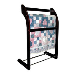 Proman - Proman 3-Bar Wooden Towel/Quilt Rack - TH16029 - Shop for Caddies and Stands from Hayneedle.com! About Proman ProductsFounded in 2002 in Rockford Illinois Proman Products took to their calling to promote and distribute products made in their factory based in Southern China as well as items made by their associated factories. Proman Products is proud of their prompt and effective shipping process to customers anywhere in the continental U.S. Their design team also works directly with their customers to provide custom designed and engineered products to meet all expectations.