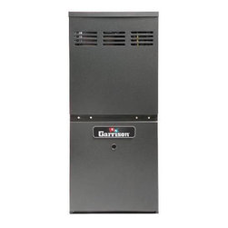 Garrison - Garrison GX 80% AFUE 80,000 BTU 1.5 - 3 Ton Gas Furnace - Upflow Horizontal - This is a brand new furnace from Garrison GX. The Garrison GX GMH8 80% AFUE Two-Stage (Convertible), Multi-Speed, Multi-Position Gas Furnace features a patented aluminized-steel tubular heat exchanger and durable Silicon Nitride Hot Surface Ignition system. This furnace is run-tested for heating or combination heating/cooling applications. With a heavy-gauge, reinforced, insulated steel cabinet and durable baked enamel finish, this unit can be installed in a variety of locations. All Garrison GX HVAC equipment is comparable to the identical Goodman manufacturing part number, and can be serviced using Goodman parts. See below for a full list of features and specifications.