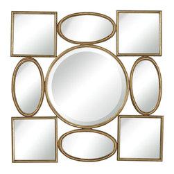 Joshua Marshal - Modern Simple Shapoes Mirror - Modern Simple Shapoes Mirror