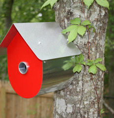 modern birdhouses by artwareeditions.com