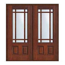 "Prehung French Double Door 80 Fiberglass Marginal 9 Lite Marginal - SKU#MCT08-SDL9_DF34D92BrandGlassCraftDoor TypeFrenchManufacturer Collection9 Lite Marginal French DoorsDoor ModelMarginalDoor MaterialFiberglassWoodgrainVeneerPrice3370Door Size Options2(32"")[5'-4""]  $02(36"")[6'-0""]  $0Core TypeDoor StyleDoor Lite Style9 Lite , MarginalDoor Panel Style2 PanelHome Style MatchingDoor ConstructionPrehanging OptionsPrehung , ImpactPrehung ConfigurationDouble DoorDoor Thickness (Inches)1.75Glass Thickness (Inches)Glass TypeDouble GlazedGlass CamingGlass FeaturesTempered glassGlass StyleGlass TextureClearGlass ObscurityNo ObscurityDoor FeaturesDoor ApprovalsTCEQ , Wind-load Rated , AMD , NFRC-IG , IRC , NFRC-Safety GlassDoor FinishesDoor AccessoriesWeight (lbs)603Crating Size25"" (w)x 108"" (l)x 52"" (h)Lead TimeSlab Doors: 7 Business DaysPrehung:14 Business DaysPrefinished, PreHung:21 Business DaysWarrantyFive (5) years limited warranty for the Fiberglass FinishThree (3) years limited warranty for MasterGrain Door Panel"