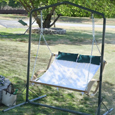 Traditional Hammocks And Swing Chairs by Brookstone