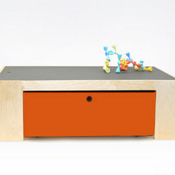 Ducduc Parker Playtable, Chalkboard Top - This is a good idea for the children's playroom. It has a hidden drawer that works as a toy box, and the chalkboard top is a great space for the kids to get creative.