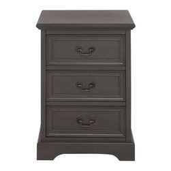 Benzara - Coventry Classy Wood Night Stand - Coventry Classy Wood Night Stand. Ever wished to have a fashionable night stand for your quarters? Coventry Night stand is simple and smart to add one to your indoors. Some assembly may be required.