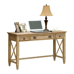 Riverside Furniture - Riverside Furniture Coventry Writing Desk in Weathered Driftwood - Riverside Furniture - Writing Desks - 32420 - Riverside's products are designed and constructed for use in the home and are generally not intended for rental, commercial, institutional or other applications not considered to be household usage.