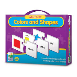 Learning Journey - Learning Journey Match It! Colors & Shapes - 620533 - Shop for Learning and Education from Hayneedle.com! The Learning Journey Match It! Colors & Shapes is part of an award-winning series of educational titles. Each product in the series features a set of self-correcting puzzle pairs that introduce children to a specific educational topic or skill. The brightly illustrated puzzle cards engage children in the learning process in an entertaining way. Match It! games are a terrific learning tool for everyone. Match It! Colors & Shapes includes 26 self-correcting puzzle pairs. Ages 3+ years. About The Learning Journey InternationalThe Learning Journey designs and manufactures the finest in children's interactive educational toys and games. Each of the company's products develops and builds on necessary skills children need for school and beyond. The company has won a number of awards cementing the Learning Journey's reputation as the one of the finest designers and distributors of educational toys in the United States -- and worldwide.