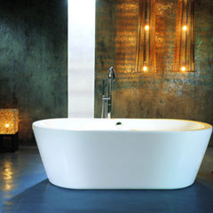 contemporary bathtubs by aquaticagroup.com
