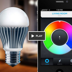 LIFX Lightbulb - LIFX is another interesting phone-controlled LED lighting idea.