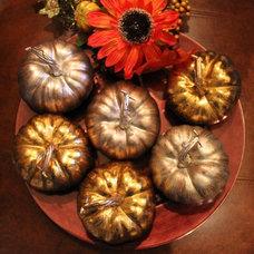 Traditional  Fall Pumpkins