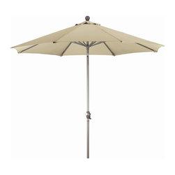 Phat Tommy - 9 Ft. Market Patio Umbrella in Beige - Eight aluminum ribs