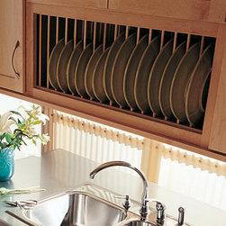 Homecrest Plate Rack Cabinet Kitchen Cabinetry: Find Kitchen Cabinets ...