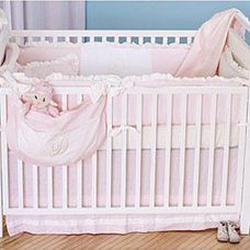 Traditional Baby Bedding by dimplesanddandelions.com
