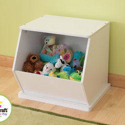 Kids Kraft White Colored Single Storage Unit For Kids