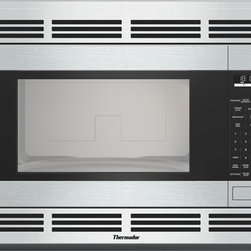 Thermador Built-in Microwave MBES - Features quick defrost, smart sensor, 10 power settings, and stainless steel trim kits.