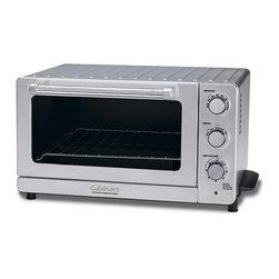 Cuisinart - Cuisinart TOB-60N Convection Toaster Oven Broiler - This stainless steel toaster oven broiler by industry giant Cuisinart will get used on a daily basis in your home. Toast up to six slices of bread or broil with ease. This small appliance offers five distinct settings for cooking what you need.