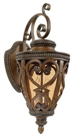 Quoizel - Quoizel Lighting - FQ8312AW01 - Fort Quinn - Three Light Wall Lantern - Part Number-FQ8312AW01
