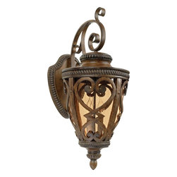 Quoizel - Quoizel Lighting - FQ8312AW01 - Fort Quinn - Three Light Wall Lantern - Part Number-FQ8312AW01