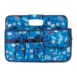 Neatnix - Stuff Craft Tool Box, Blue Owls - Our Stuff Craft Tool Box is ready to organize and sort out your everything from your craft tools and jewelry to cosmetics. Includes two divided sections and 15 exterior pockets.